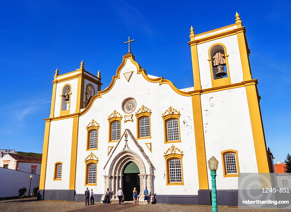 Main Church, Praia da Vitoria, Terceira Island, Azores, Portugal, Atlantic, Europe