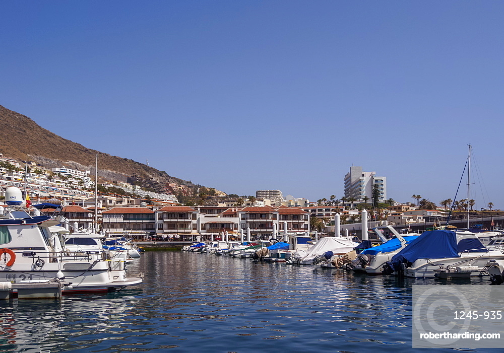 Port in Acantilados de los Gigantes, Tenerife Island, Canary Islands, Spain, Atlantic, Europe