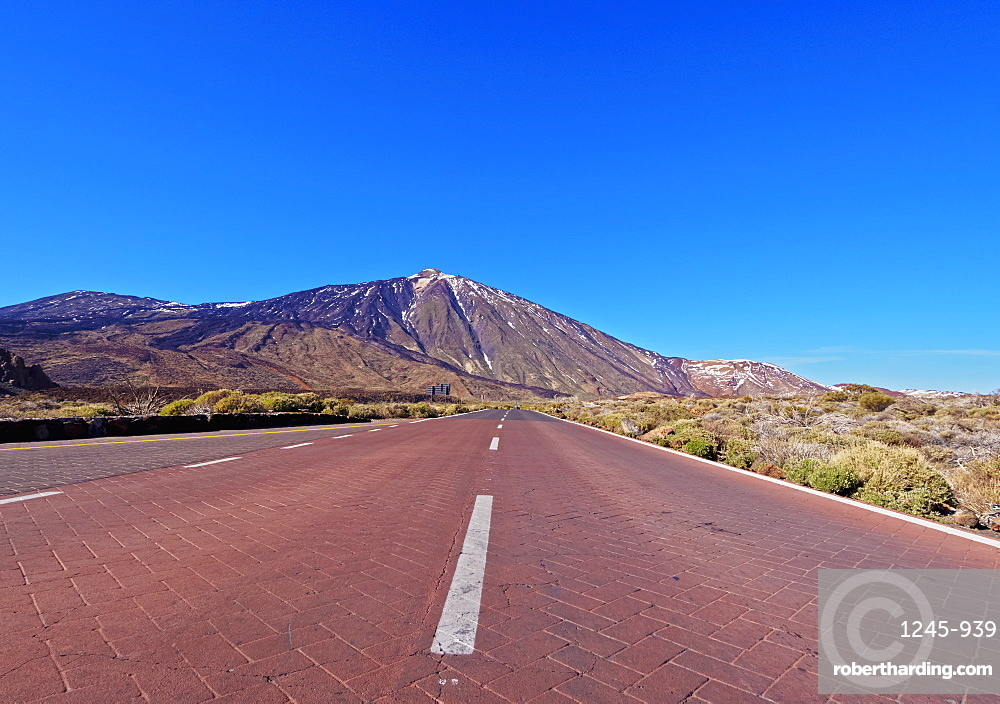 Teide Mountain, Teide National Park, UNESCO World Heritage Site, Tenerife Island, Canary Islands, Spain, Europe