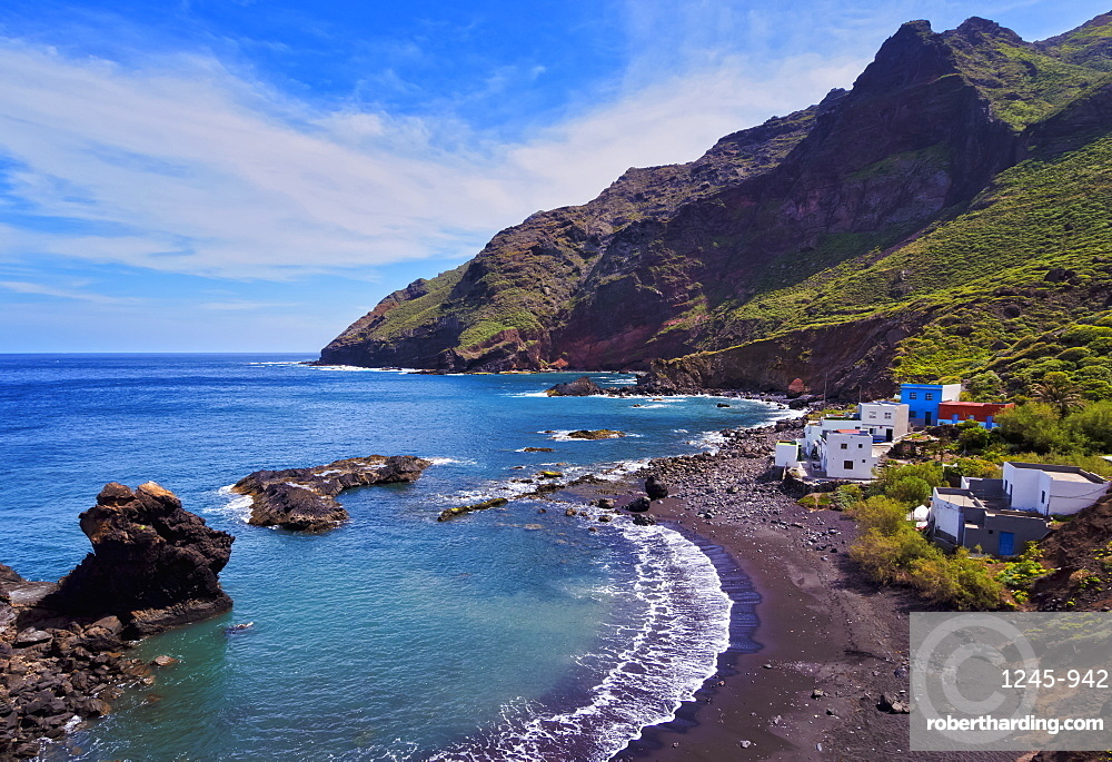 Roque Bermejo Beach, Anaga Rural Park, Tenerife Island, Canary Islands, Spain, Atlantic, Europe