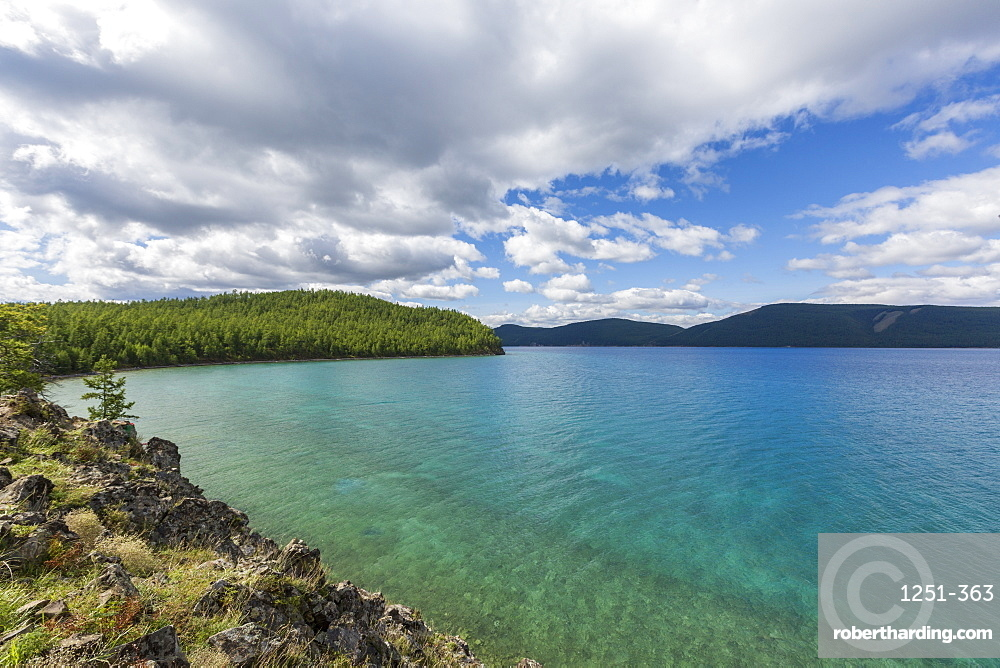 Hovsgol Lake, Hovsgol province, Mongolia, Central Asia, Asia