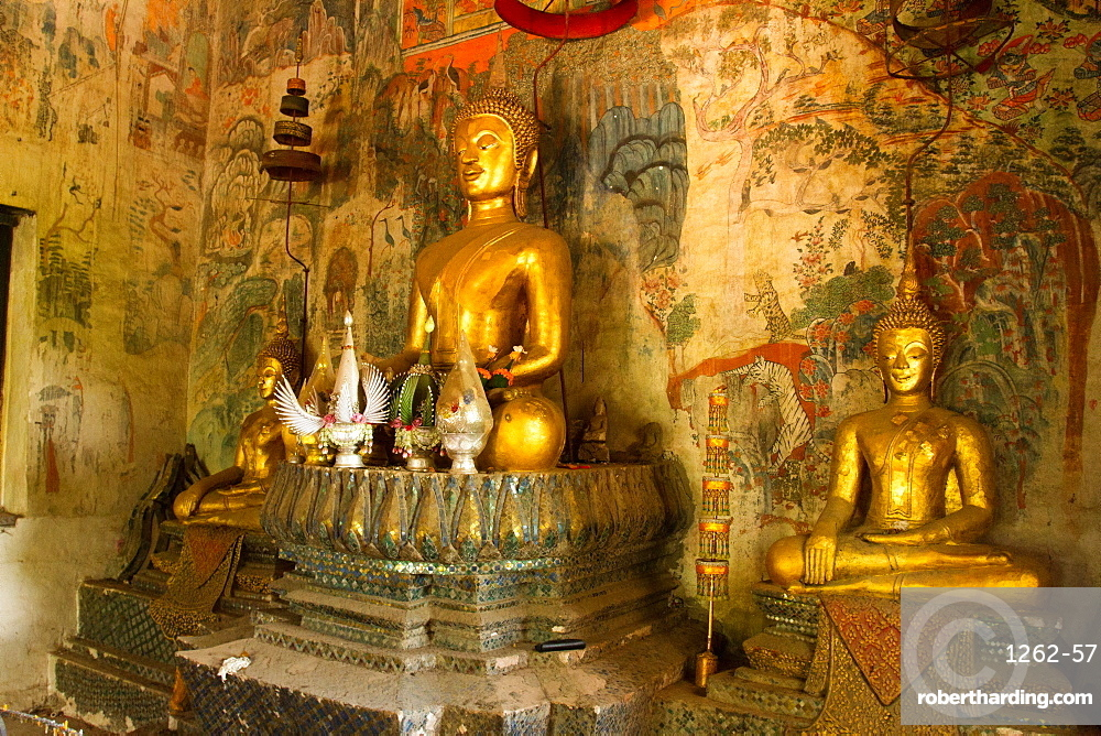 Buddhas of Luang Prabang, Laos, Indochina, Southeast Asia, Asia