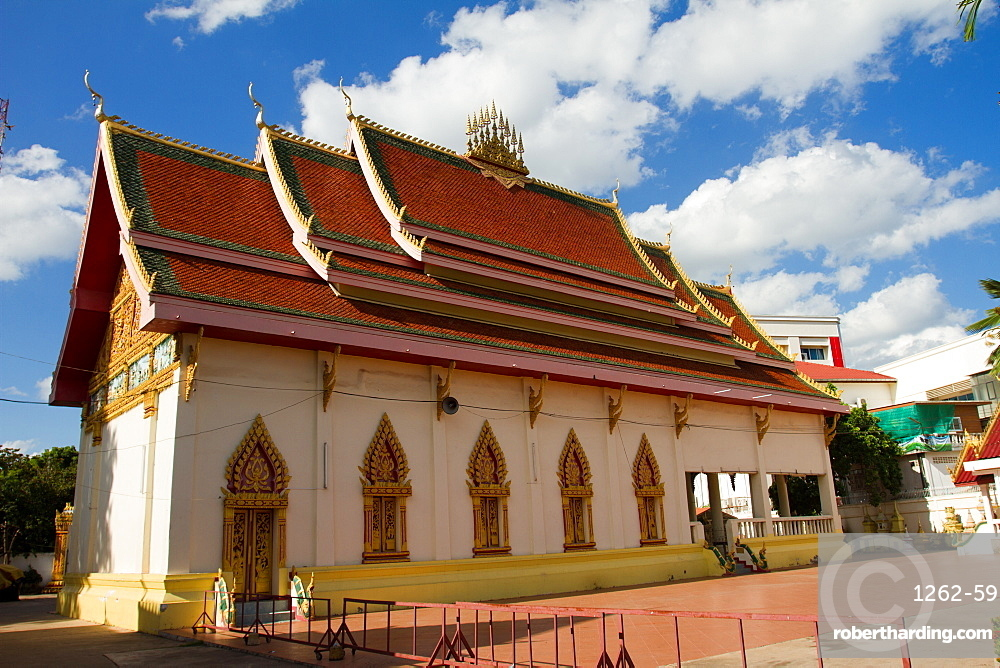 Wat Dong Palep temple, Vientiane, Laos, Indochina, Southeast Asia, Asia