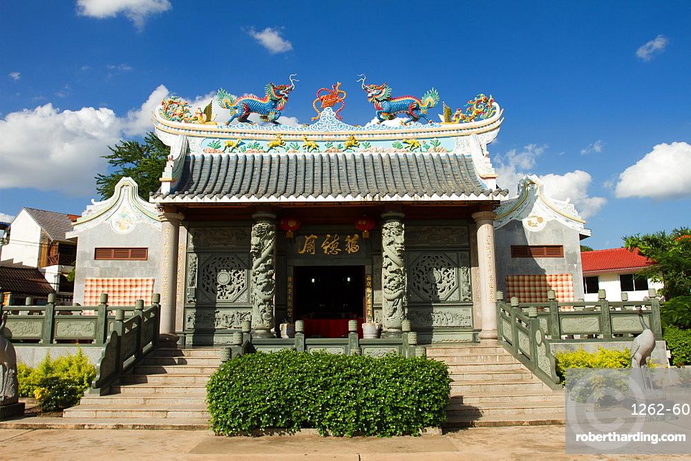 Chinese Buddhist temple, Vientiane, Laos