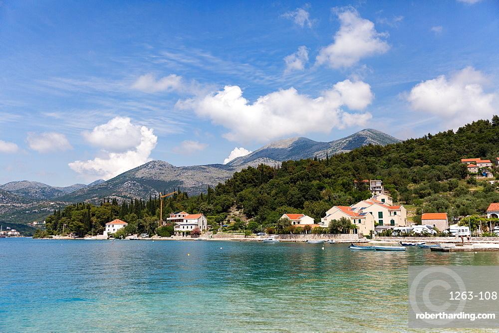 The resort of Slano on the Dalmatian Coast, Croatia, Europe