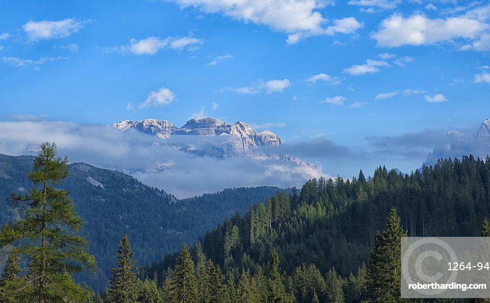 Italy, Trentino, Rendena Valley,Brenta mountain range