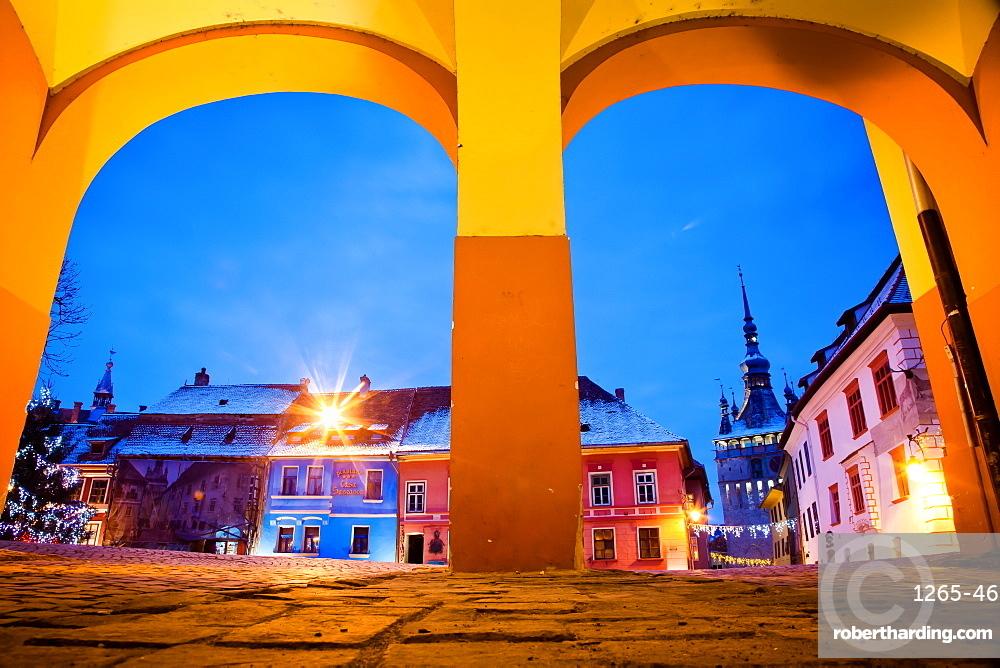 Sighisoara medieval town in Transylvania, Romania