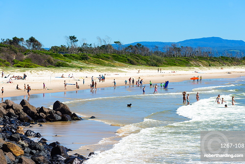 Byron Bay Main beach, New South Wales, Australia, Pacific