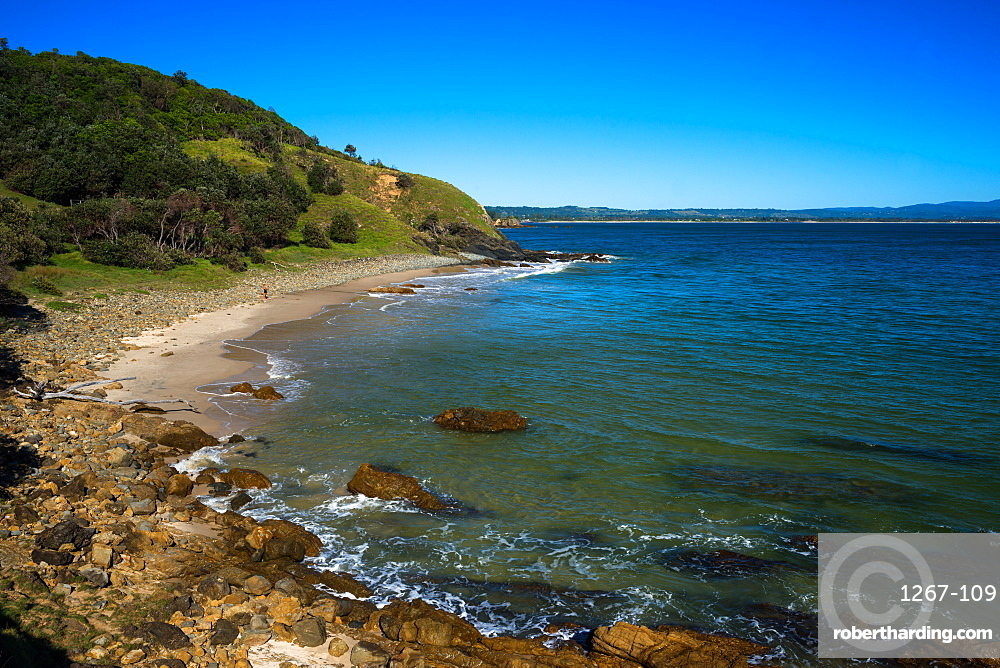 Little Wategos beach at Cape Byron Bay, New South Wales, Australia, Pacific