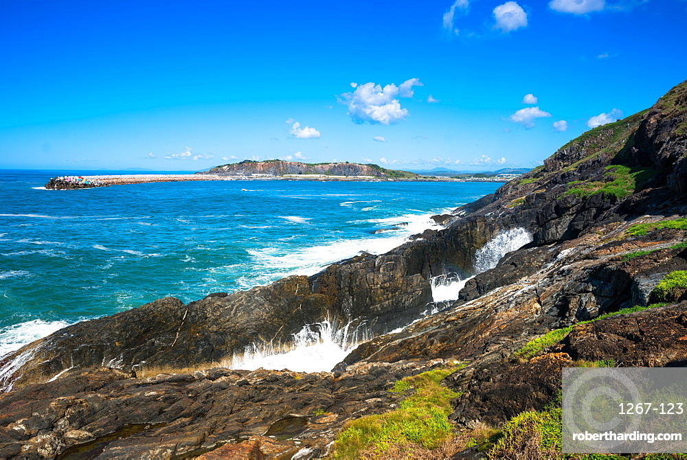 Sea views off of Muttonbird Island, Coffs Harbour, New South Wales, Australia, Pacific