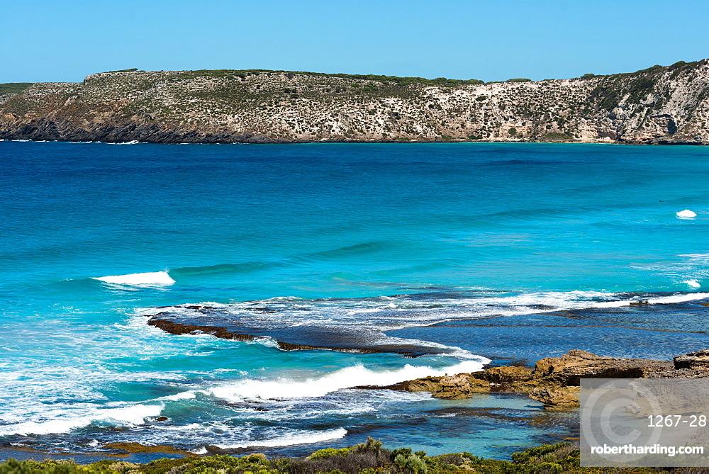 Dramatic coastline on Kangaroo Island, South Australia, Australia, Pacific