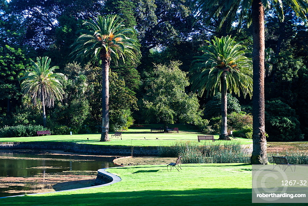 Royal Botanic Gardens in Melbourne