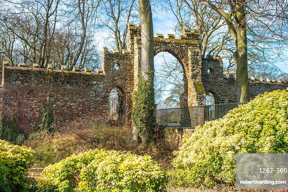 The Guannock Gate in The Walks, King's Lynn, Norfolk, England, United Kingdom, Europe