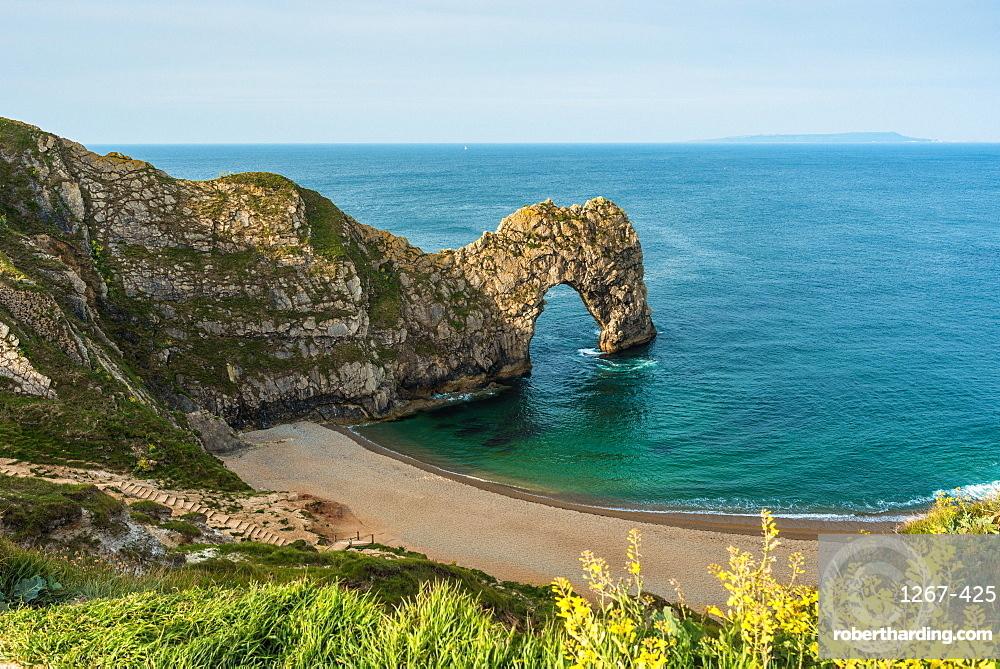 Durdle Door in Dorset on England's Jurassic Coast. UK.