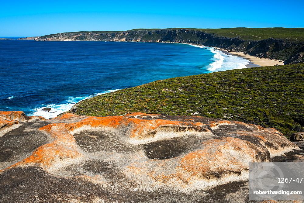 Views at the Remarkable Rocks, Flinders Chase National Park, Kangaroo Island, South Australia, Australia, Pacific