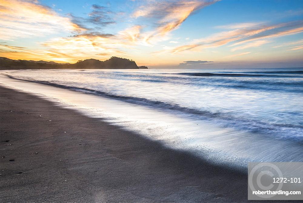 Playa Buena Vista Beach at sunrise, Guanacaste Province, Costa Rica, Central America