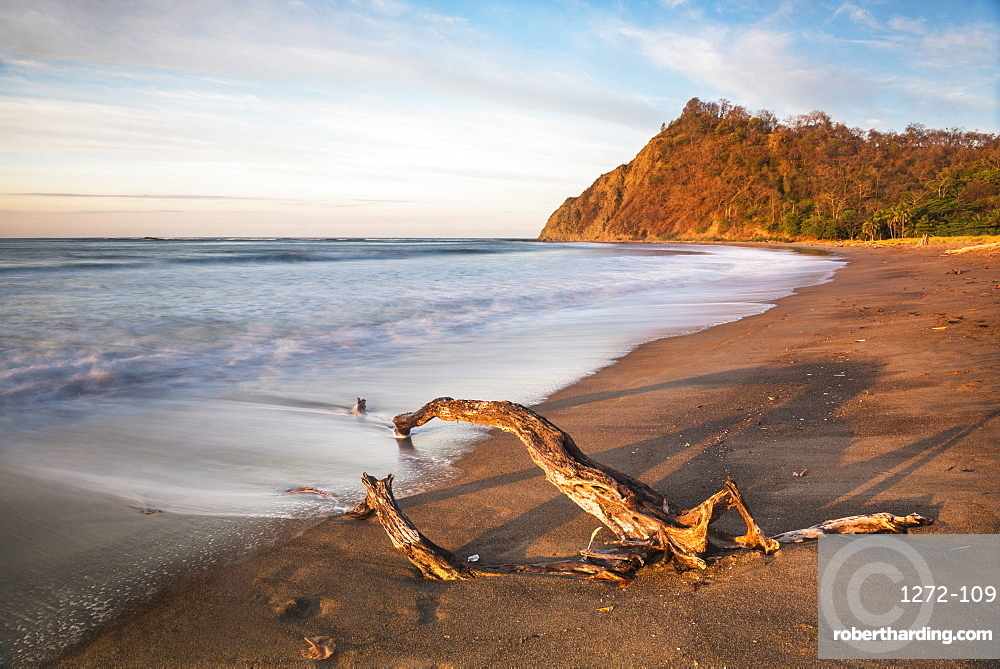 Playa Buena Vista Beach at sunrise, Guanacaste Province, Costa Rica, Central America