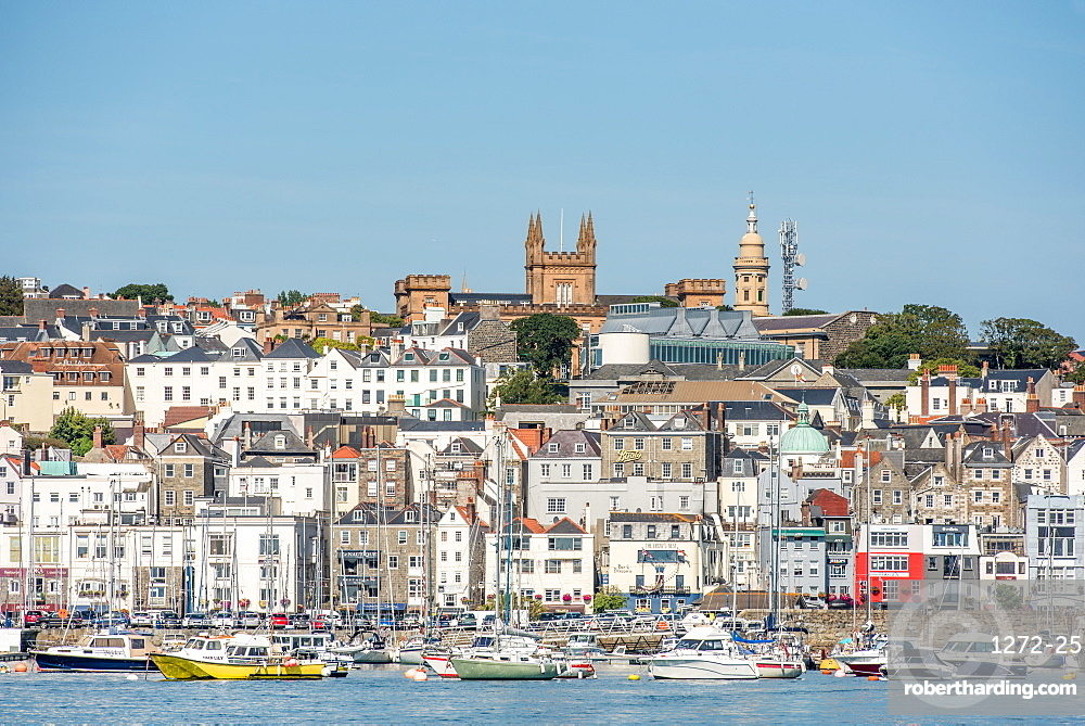 St. Peter's Port, Guernsey, Channel Islands, United Kingdom, Europe