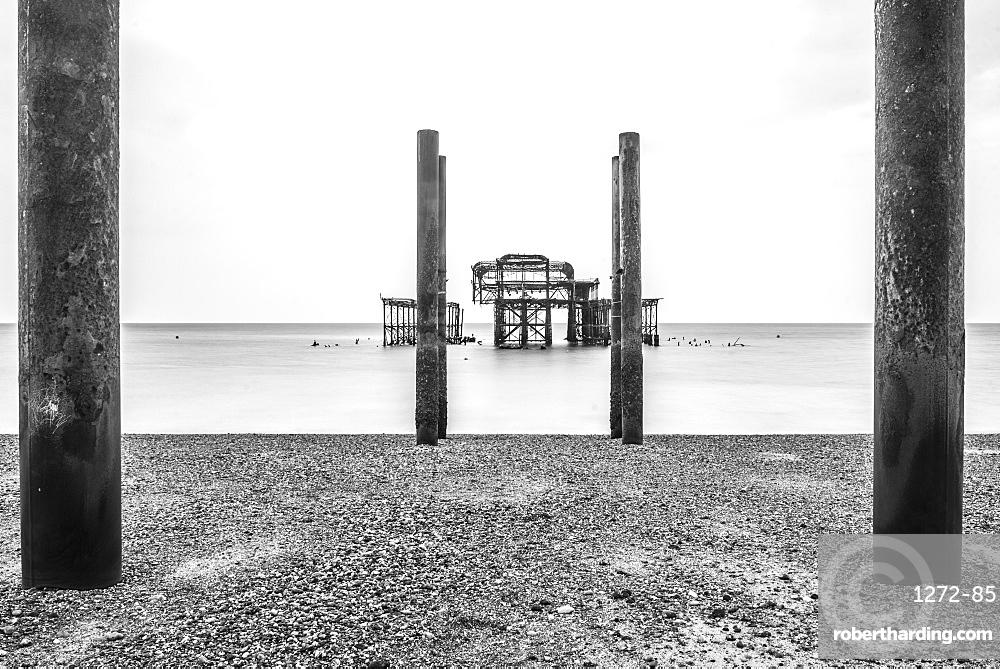 Brighton Pier, Brighton and Hove, East Sussex, England