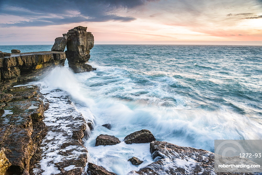 Pulpit Rock, Portland Bill, Isle of Portland, Dorset, England
