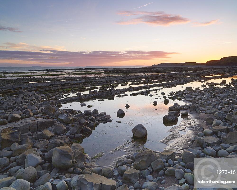 Somerset sunrise, England, United Kingdom, Europe