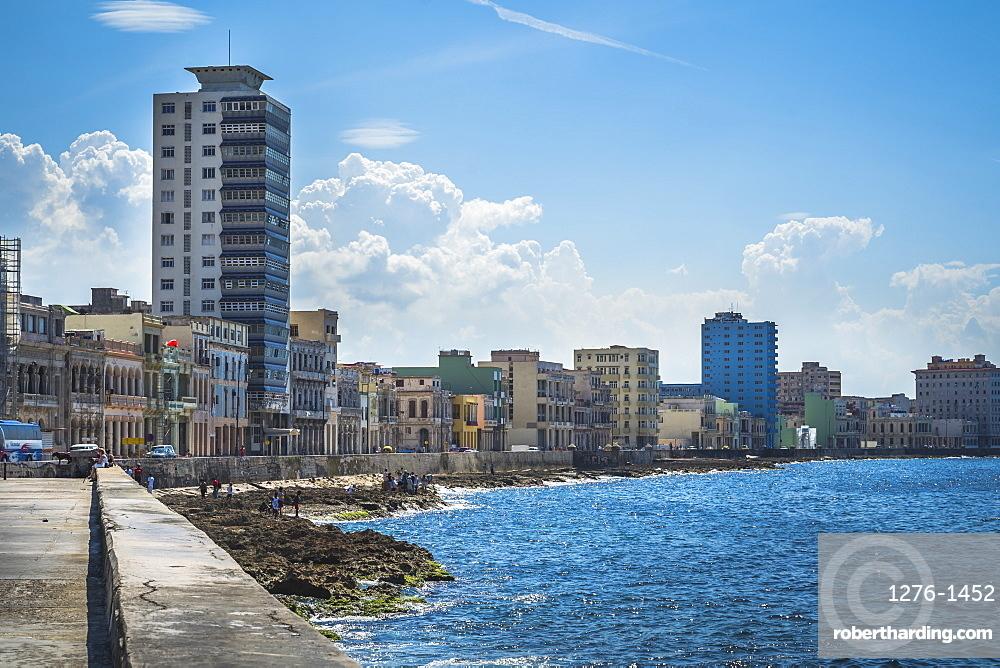 Malecon, La Habana, Havana, Cuba, West Indies, Caribbean, Central America