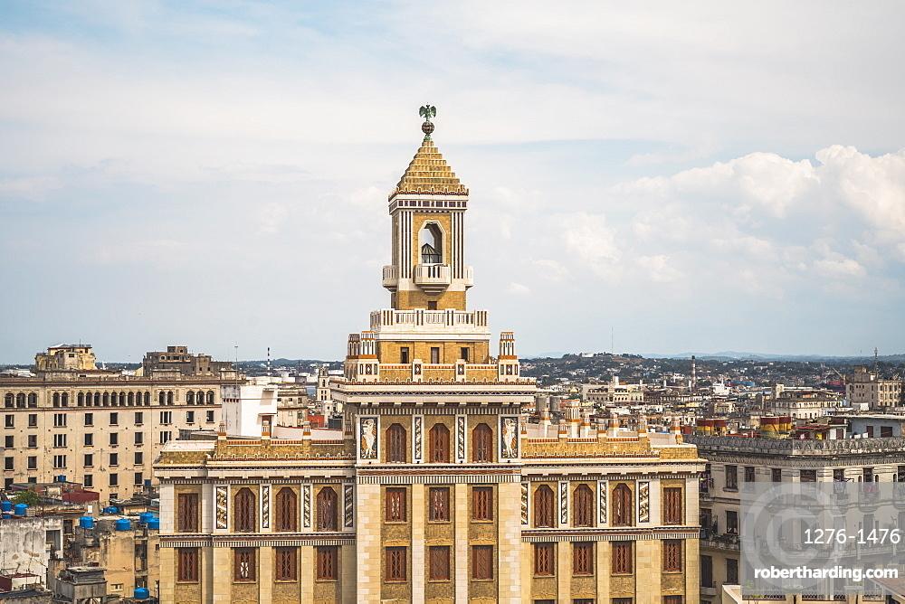 Bacardi building, La Habana, Havana, Cuba, West Indies, Caribbean, Central America