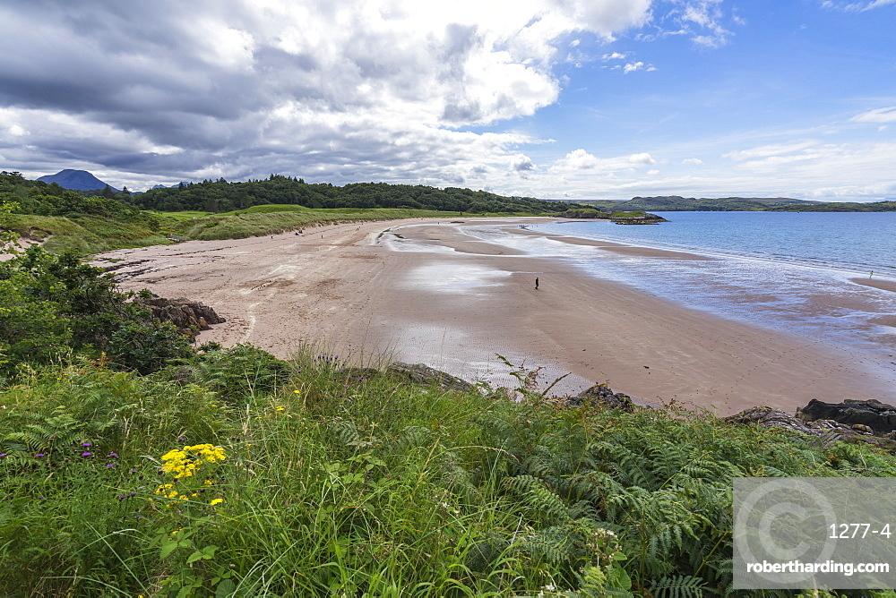 Sandy beach near Gairloch, Scotland