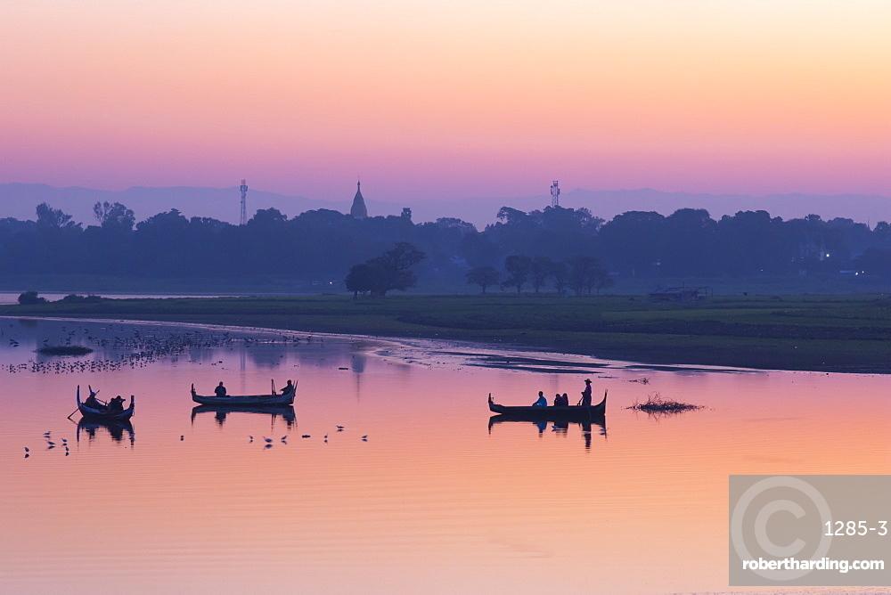 Sunrise in Mandalay, Myanmar (Burma), Asia