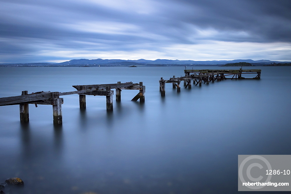 Aberdour Pier, Fife, Scotland, United Kingdom, Europe