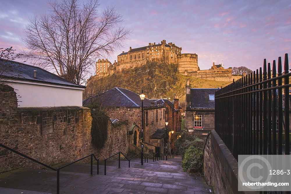 Edinburgh Castle, Scotland, United Kingdom, Europe
