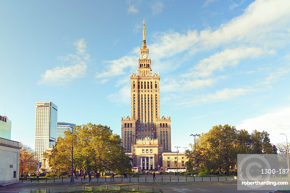Palace of Culture and Science, Pałac Kultury i Nauki, built in the 1950's