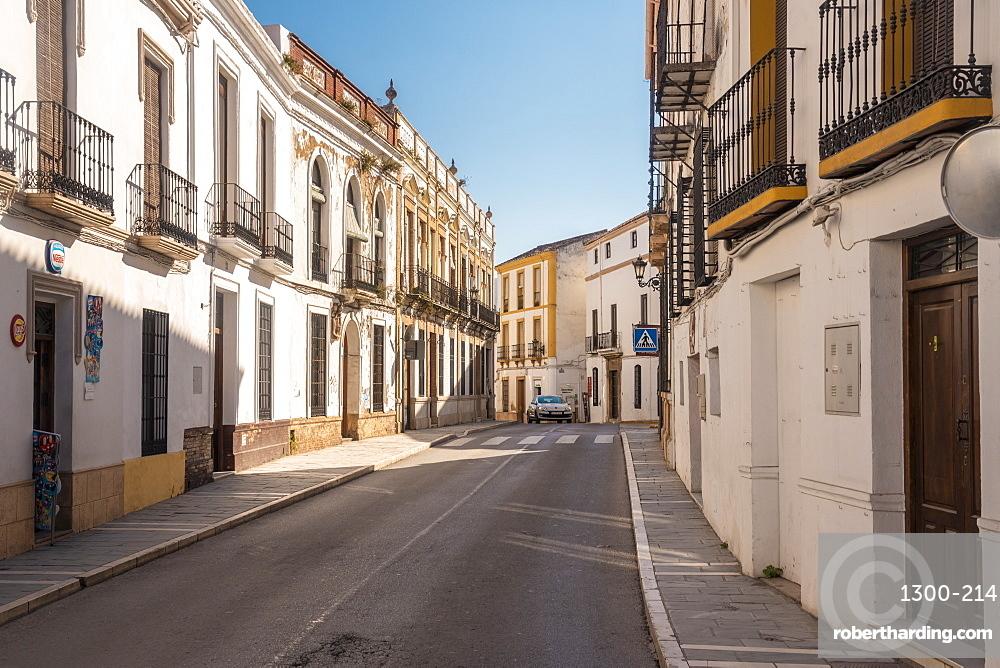 Historic Calle Armiñán in Ronda