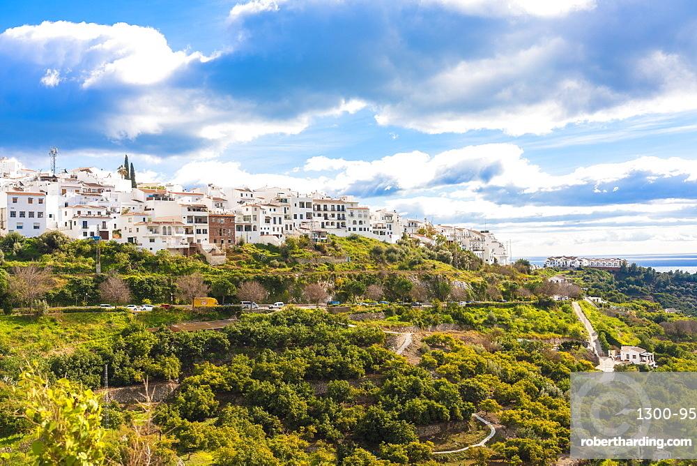 Mijas old white village, Mijas, Malaga province, Andalucia, Spain, Europe