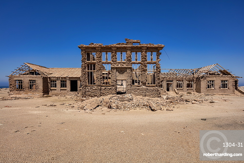 A disused Casino in the Abandoned Mining Town Elizabeth Bay, on the coast of Luderitz around 25km from Kolmonskop