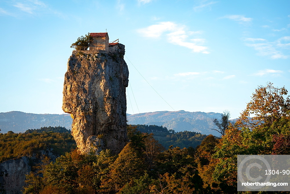 Katskhi Pillar, Georgia, Central Asia, Asia