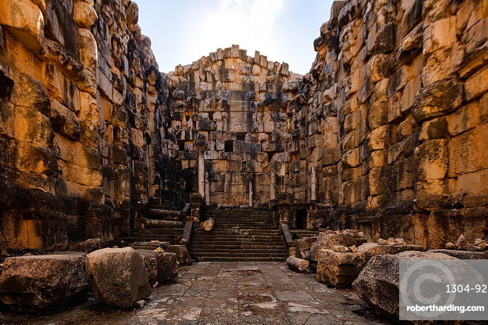 Niha Temple in Lebanon, a hidden gem that was built in the Roman times.