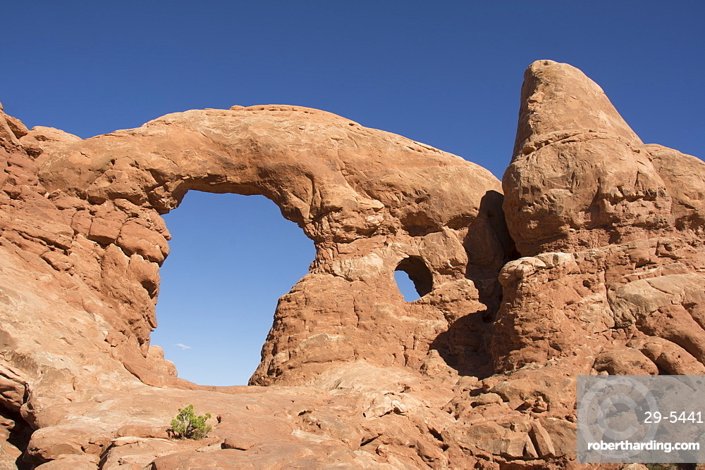 Turret Arch in Windows section of Arches National Park, Moab, Utah