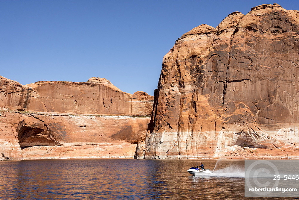 Escalante River Arm, Lake Powell, Utah, United States of America, North America