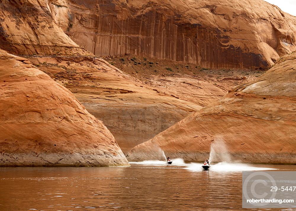 Moki Canyon, Lake Powell, Utah, United States of America, North America