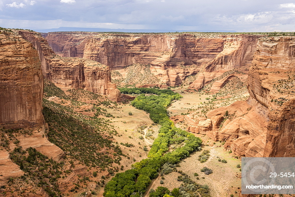 Junction Overlook, Canyon de Chelly National Monument, Arizona, United States of America, North America