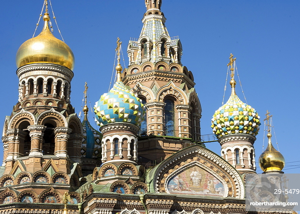 Church of our Saviour on Spilled Blood (Church of the Resurrection of Christ), UNESCO World Heritage Site, St. Petersburg, Russia, Europe