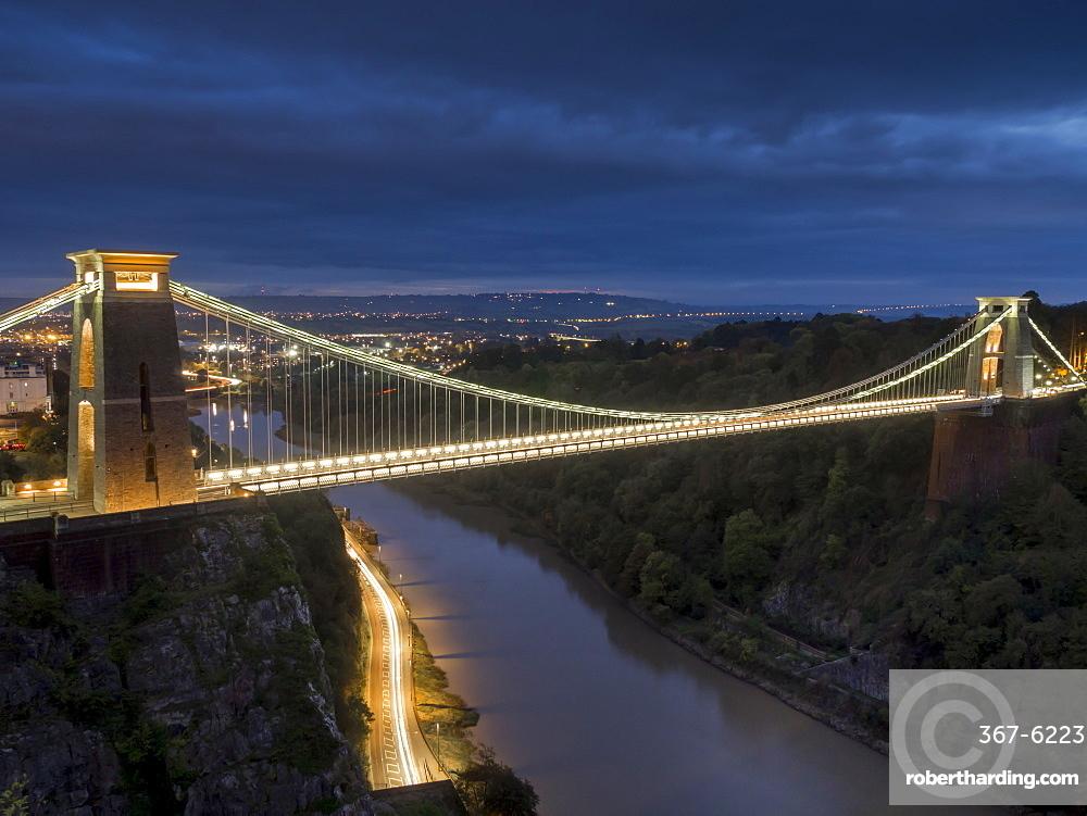 uk, england, Bristol, Clifton suspension bridge