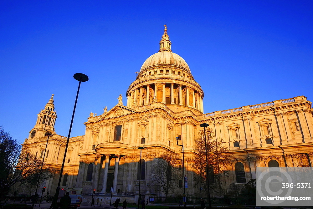 St. Pauls Cathedral, London, England, United Kingdom, Europe