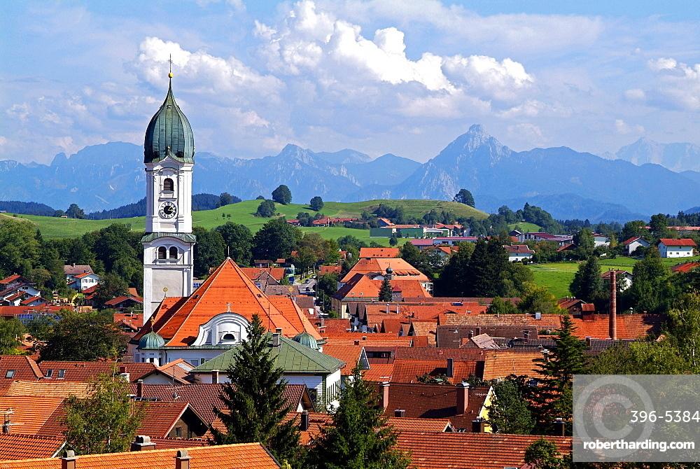 Nesselwang, Allgau, Bavaria, Germany, Europe