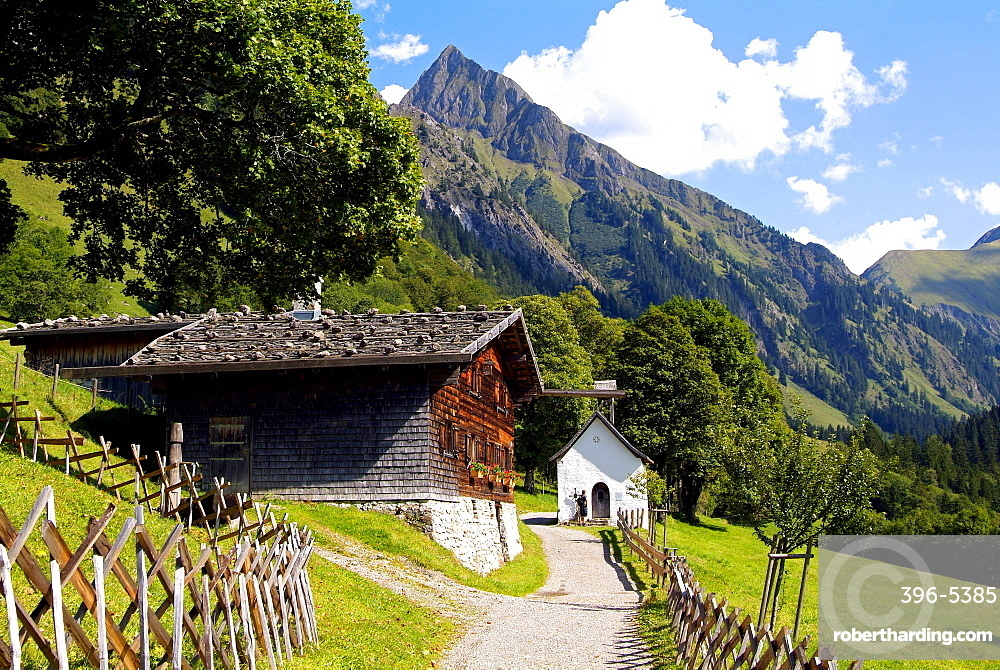 Gerstruben near Oberstdorf, Allgau, Bavaria, Germany, Europe