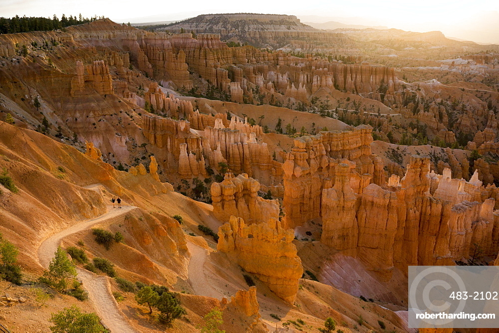 Bryce National park, sunset point