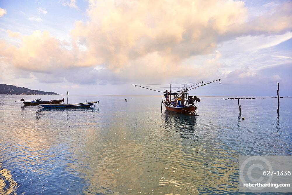 Fishing boats, Koh Samui, Thailand