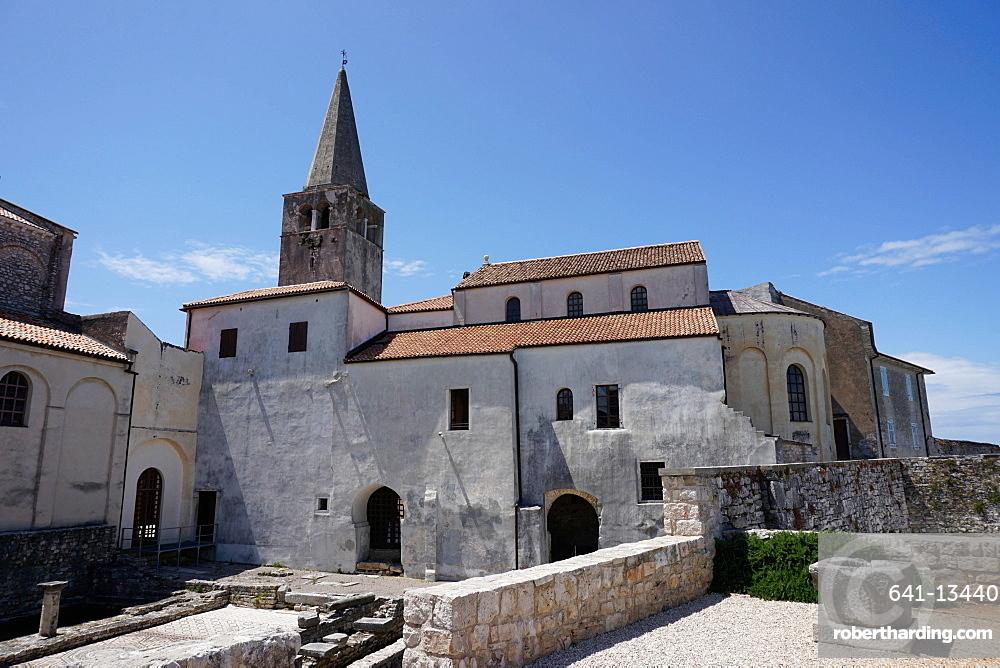 Euphrasian Basilica, UNESCO World Heritage Site, Porec, Istra Peninsula, Croatia, Europe