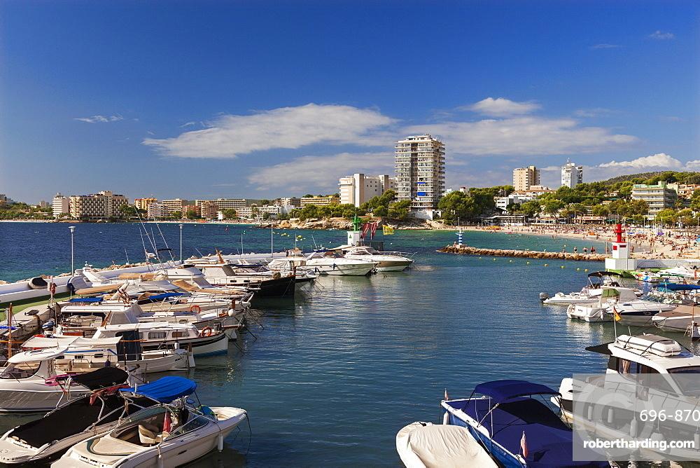 Palma Nova Marina, Mallorca, Spain, Europe